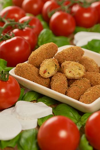 Mozzarella Caprese Bites