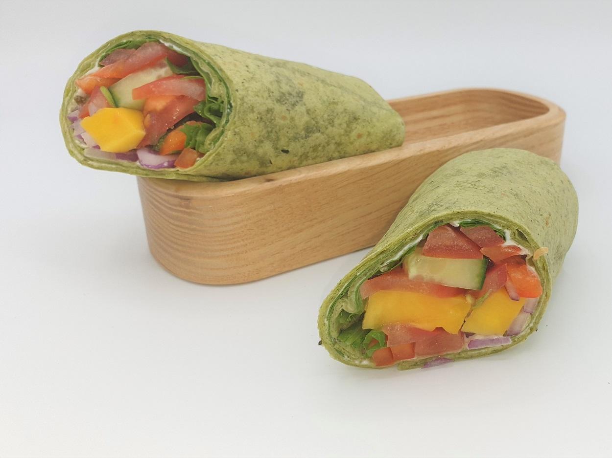 Spinach tortilla Ø25cm