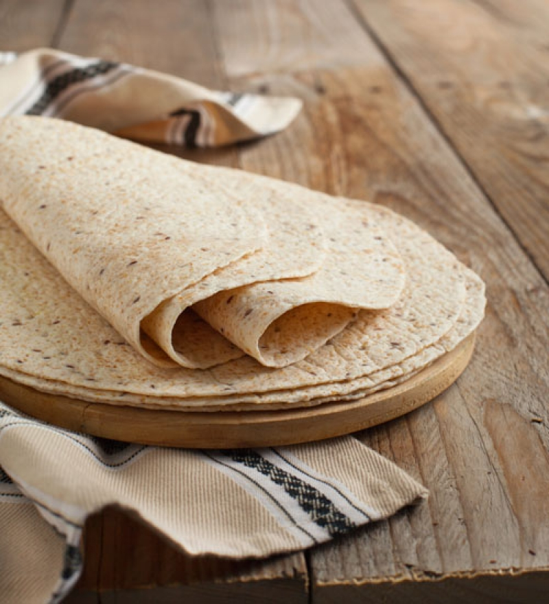 Wholemeal Tortillas Ø25 cm