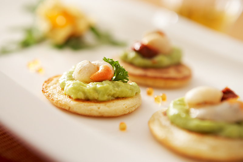 Exquisite blinis