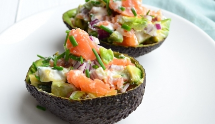 Filled Avocado Halves