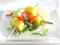 Mango Salad with Langoustines