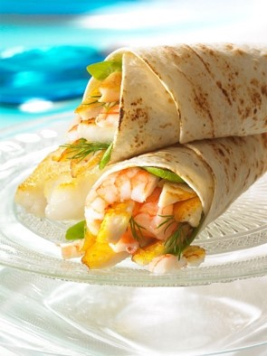 Shrimp Wraps