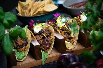 Stuffed taco's